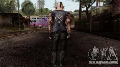 GTA 4 Skin 55 para GTA San Andreas segunda pantalla