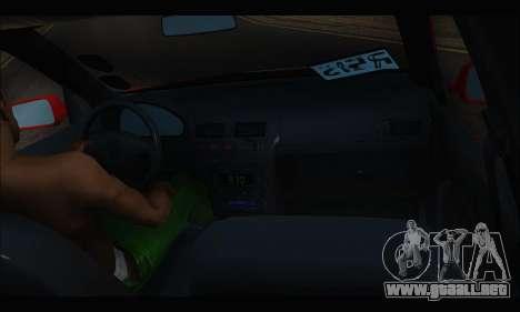 Volkswagen Bora para GTA San Andreas vista hacia atrás