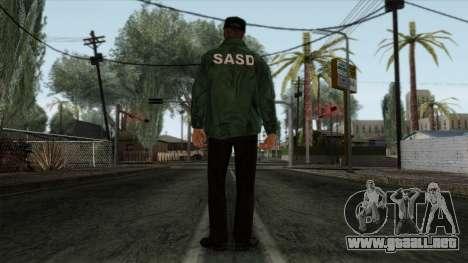 Police Skin 2 para GTA San Andreas segunda pantalla
