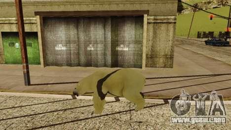 La posibilidad de GTA V para jugar para los anim para GTA San Andreas novena de pantalla