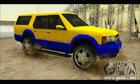 New Landstalker para GTA San Andreas left