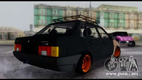 Lada 21099 Rat Look para GTA San Andreas left