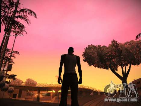 ENB v.14 para GTA San Andreas sexta pantalla