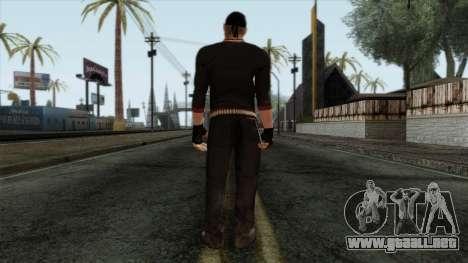 GTA 4 Skin 42 para GTA San Andreas segunda pantalla