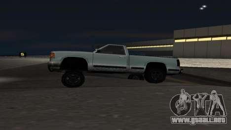 La nueva física de las máquinas para GTA San Andreas segunda pantalla