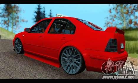 Volkswagen Bora para la visión correcta GTA San Andreas