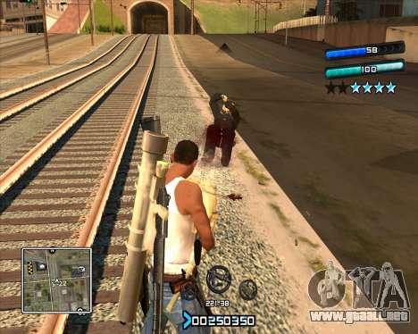 C-HUD Super Cull para GTA San Andreas
