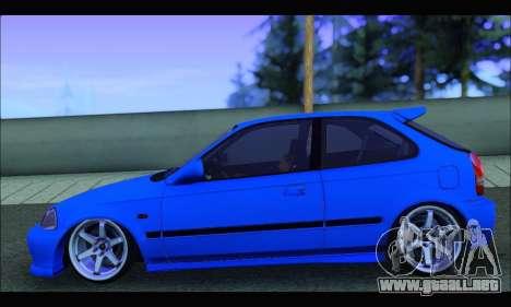 Honda Civic HB (BLG) para la visión correcta GTA San Andreas