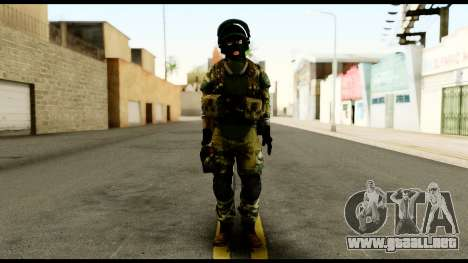 Support Troop from Battlefield 4 v3 para GTA San Andreas