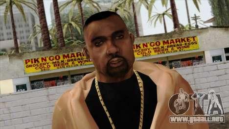 GTA 4 Skin 30 para GTA San Andreas tercera pantalla