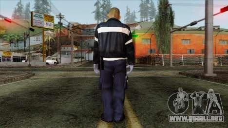 GTA 4 Skin 44 para GTA San Andreas segunda pantalla