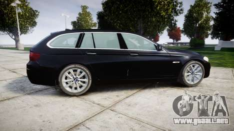 BMW 525d F11 2014 Facelift Civilian para GTA 4 left