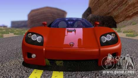 Koenigsegg CCX 2006 Road Version para visión interna GTA San Andreas