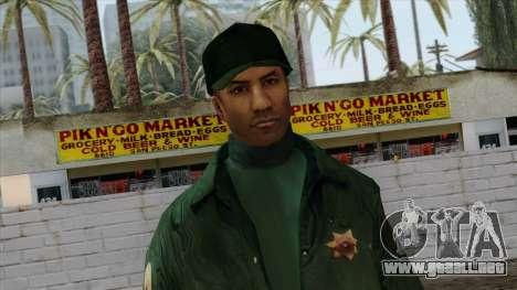 Police Skin 2 para GTA San Andreas tercera pantalla