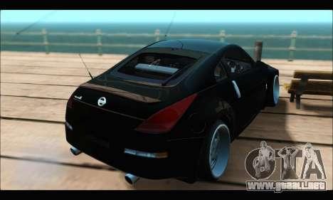 Nissan 350Z Rock para GTA San Andreas left