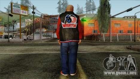 GTA 4 Skin 69 para GTA San Andreas segunda pantalla