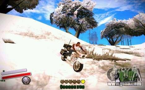 C-HUD v4.0 para GTA San Andreas segunda pantalla
