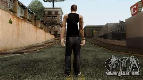 GTA 4 Skin 66 para GTA San Andreas segunda pantalla