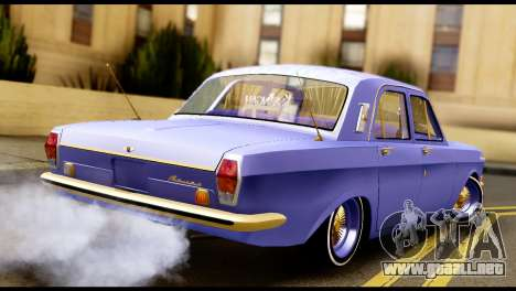 GAZ 24 Volga Lowrider La Jinetes para GTA San Andreas left