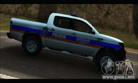 Ford Ranger P.B.A 2015 Text2 para GTA San Andreas left