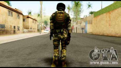 Support Troop from Battlefield 4 v3 para GTA San Andreas segunda pantalla