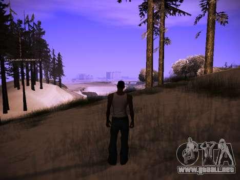 ENB v.14 para GTA San Andreas segunda pantalla