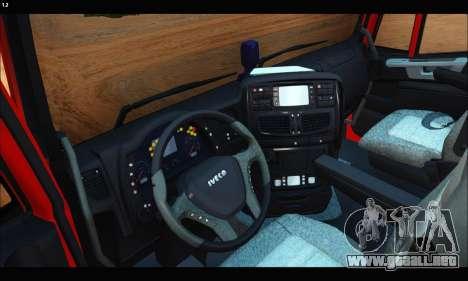 Iveco Trakker 2014 Tipper (IVF & ADD) para la visión correcta GTA San Andreas