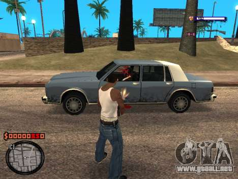 C-HUD Style para GTA San Andreas tercera pantalla