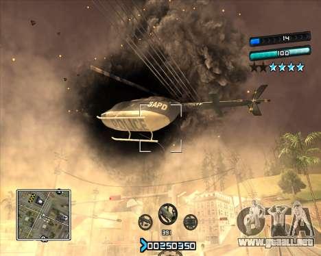 C-HUD Super Cull para GTA San Andreas tercera pantalla