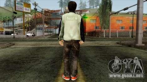 GTA 4 Skin 29 para GTA San Andreas segunda pantalla