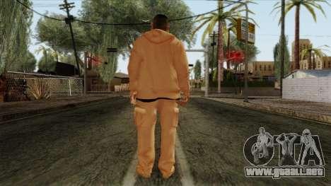 GTA 4 Skin 30 para GTA San Andreas segunda pantalla