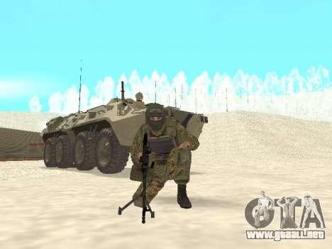 Spetsnaz MVD para GTA San Andreas tercera pantalla