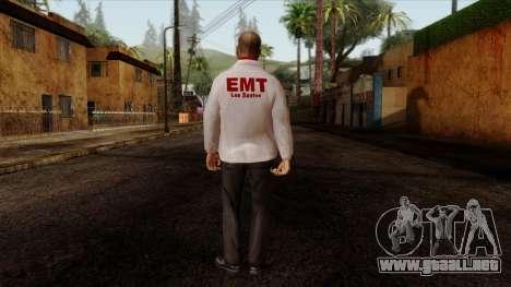 Doctor Skin 2 para GTA San Andreas segunda pantalla