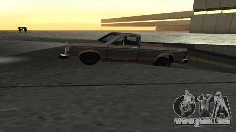 La nueva física de las máquinas para GTA San Andreas sucesivamente de pantalla