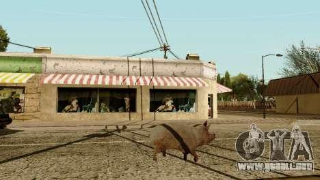 La posibilidad de GTA V para jugar para los anim para GTA San Andreas séptima pantalla