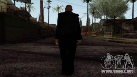 GTA 4 Skin 34 para GTA San Andreas segunda pantalla