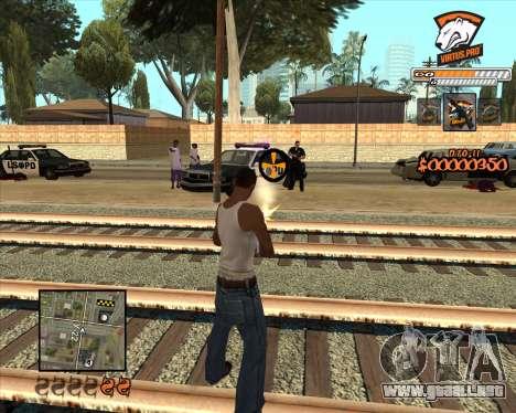 C-HUD Virtus Pro para GTA San Andreas segunda pantalla