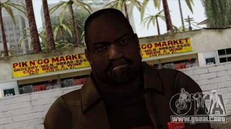 GTA 4 Skin 70 para GTA San Andreas tercera pantalla