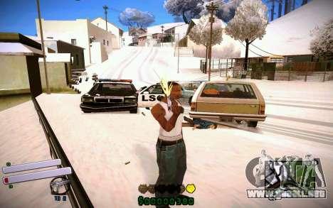 C-HUD v4.0 para GTA San Andreas sucesivamente de pantalla
