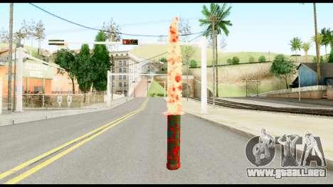 Knife with Blood para GTA San Andreas