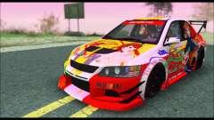 Mitsubishi Lancer Evo IX Hirasawa Yui K-ON Itash para GTA San Andreas