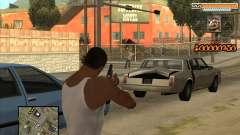 C-HUD Virtus Pro para GTA San Andreas
