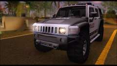 Hummer H3 Police para GTA San Andreas