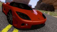 Koenigsegg CCX 2006 Road Version para GTA San Andreas