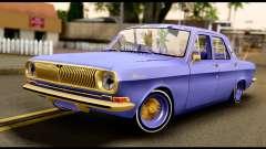 GAZ 24 Volga Lowrider La Jinetes