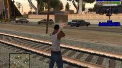 PD HUD para GTA San Andreas