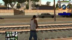 C-HUD for FBI para GTA San Andreas