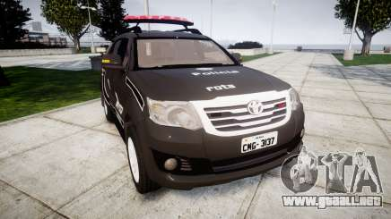 Toyota Hilux SW4 2015 ROTA [ELS] para GTA 4