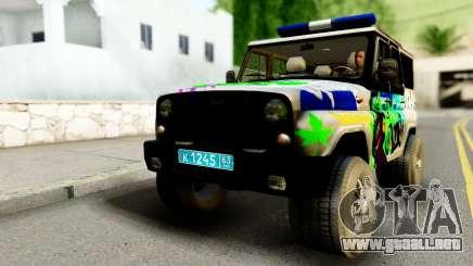 UAZ hunter 315195 para GTA San Andreas