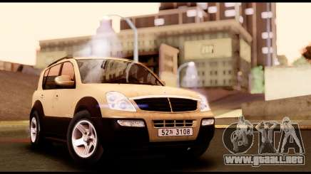 SsangYong Rexton 2005 para GTA San Andreas